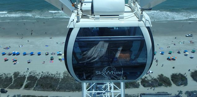 The SkyWheel is a must when it comes to things to do in South Carolina.