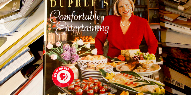 Nathalie Dupree cookbooks