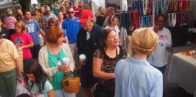 Aiken Makin craft festival