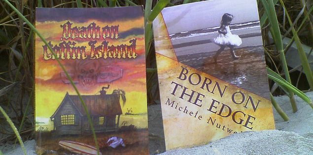 Fiction novels by author Michele Nutwell from near Folly Beach, South Carolina