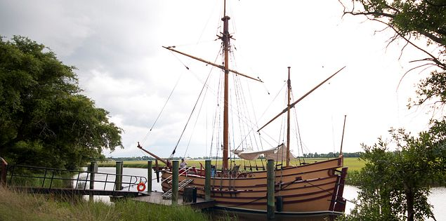 Replica 17th century Ship