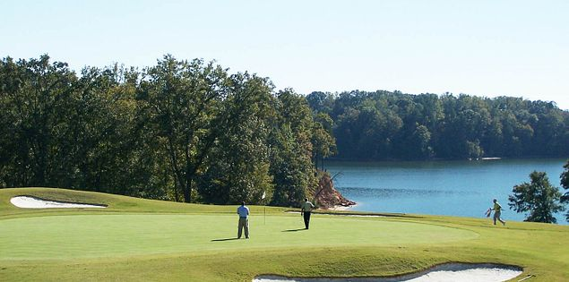 Clemson's Walker Course in Clemson, South Carolina