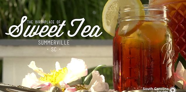 town of Summerville sweet tea
