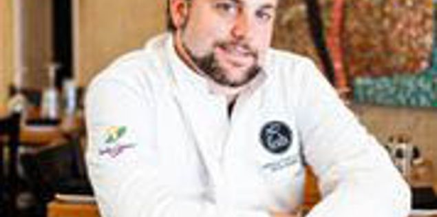 Chef Nico Romo of Fish restaurant in Charleston, South Carolina