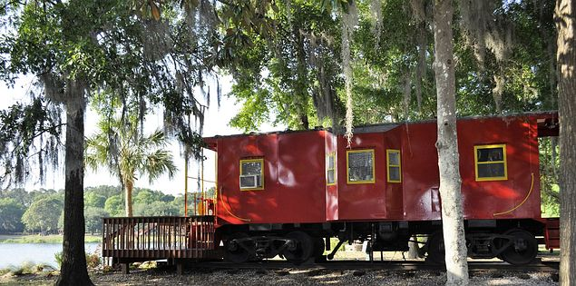 Mt Pleasant Caboose