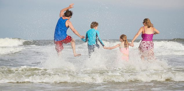 Beaches in South Carolina are fun for the entire family!