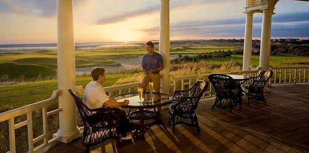 Kiawah's Ocean Course porch Ryder Cup Bar