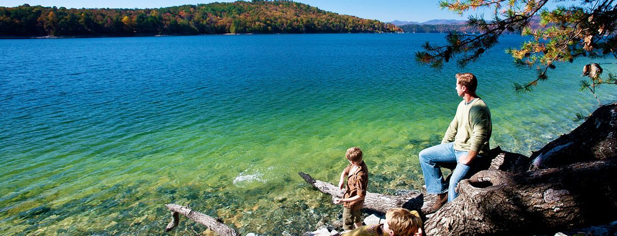 Devils Fork State Park at Lake Jocassee