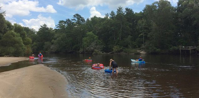 edisto river adventures tubing