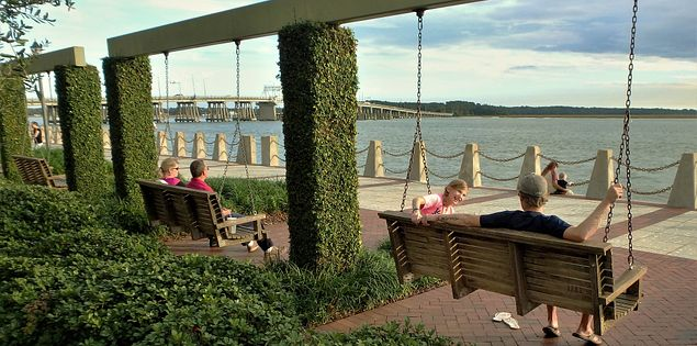 Beaufort county riverfront