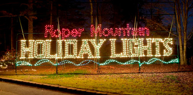 Roper Mountain Holiday Lights