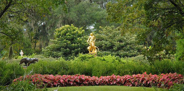 Anna Hyatt Huntington garden Brookgreen