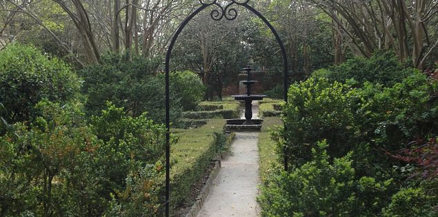 The SC Governor's Mansion Gardens are located in Columbia, South Carolina.