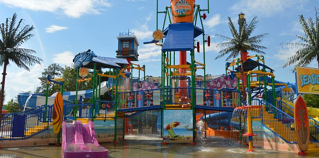 Carolina Harbor water park Carowinds