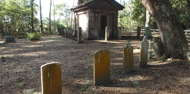 The Baynard mausoleum is Hilton Head Island's oldest standing structure.