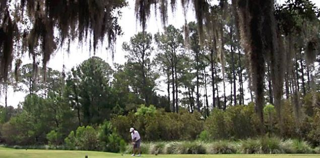 US Military Golf Course the Legends at Parris Island