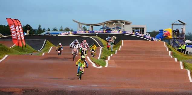 bmx novant health bmx supercross track