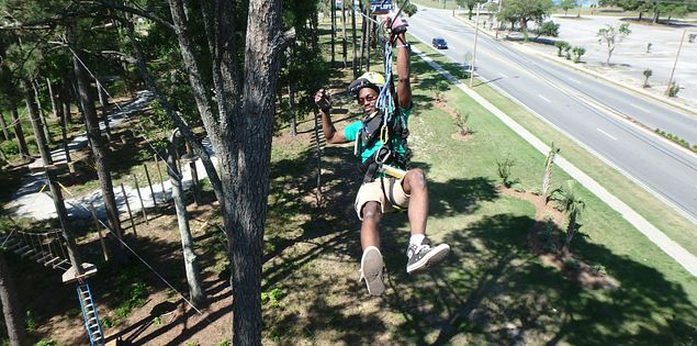 Radical Ropes zipline