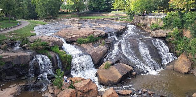 Greenville Waterfalls