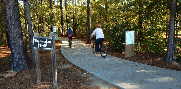timmerman trail congaree cayce