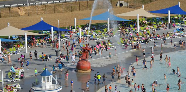 Carowinds new Carolina Harbor water park