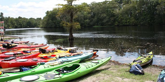 Kayak on Little Pee Dee River