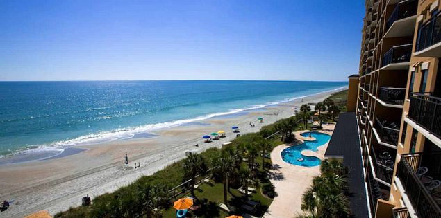 Looking for oceanfront places to stay in Myrtle Beach? Check out resorts along the SC coast.