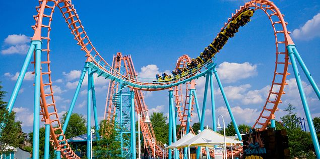 Amusement parks in South Carolina won't disappoint!