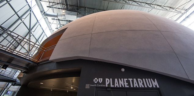 Domed Ceiling Planetarium at SCSM