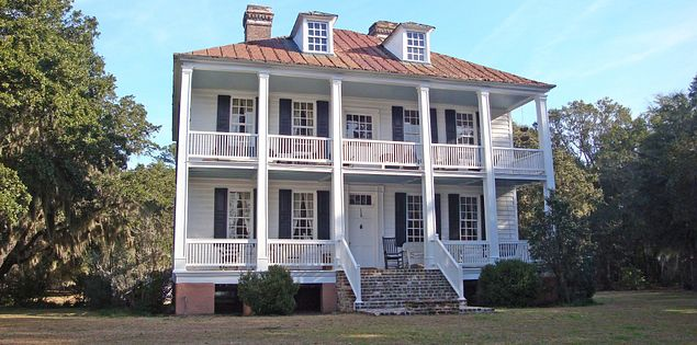 Hopsewee Plantation houses are open for public tours in Myrtle Beach's Georgetown area