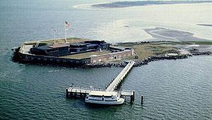 Relive the Start of the Civil War at Fort Sumter National Monument in Charleston Harbor