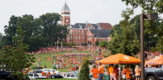 clemson south carolina tailgating
