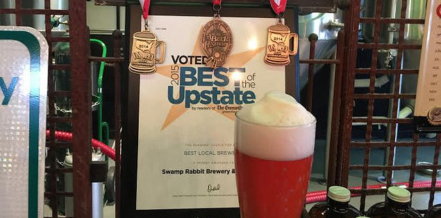 Upstate Brewery Award Swamp Rabbit Brewery Taproom
