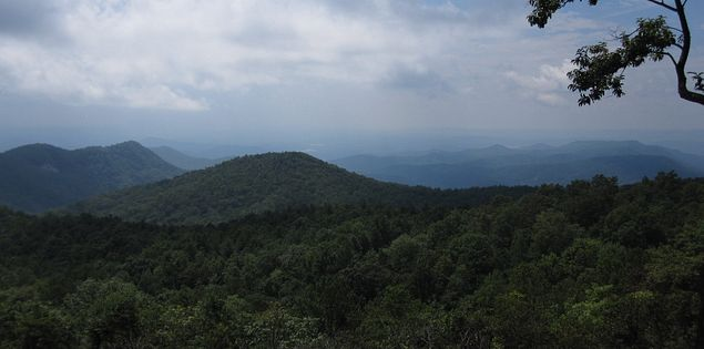 Sassafras Mountain SC