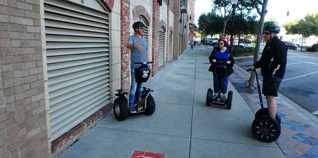 Segway Ride greenville