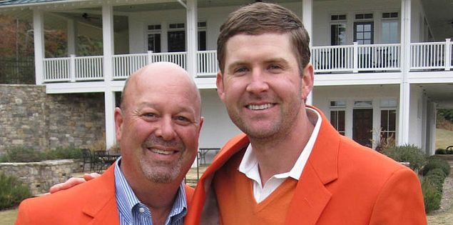 Former Clemson golfer D.J. Trahan of South Carolina