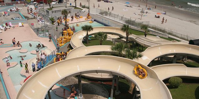 Family Kingdom's Splash water park in Myrtle Beach, SC.
