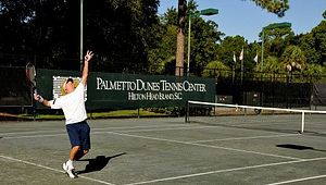 Tennis at Palmetto Dunes Resort on Hilton Head Island.