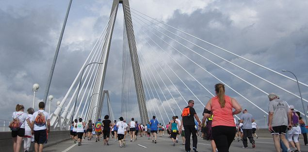 Cooper River Bridge Run.