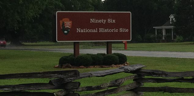 Visit the Ninety Six National Historic Site in South Carolina.