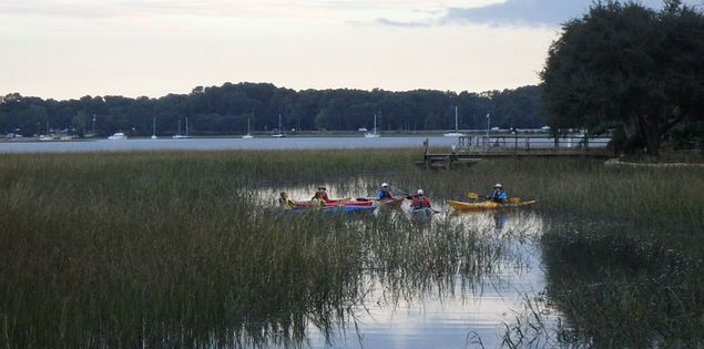 Kayak Tour on historic Beaufort peninsula