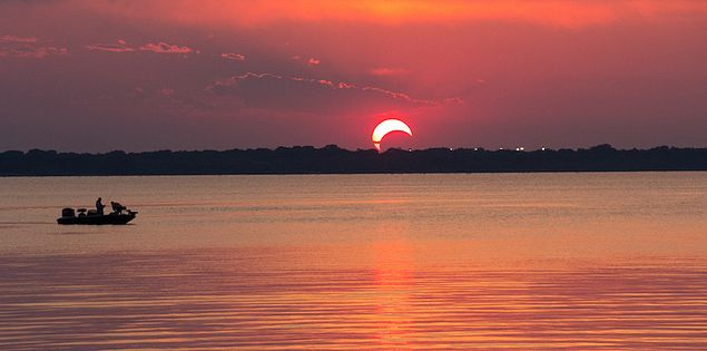 lake murray total solar eclipse