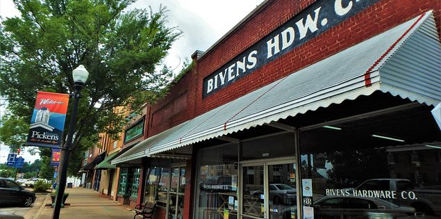 greenville bivens hardware