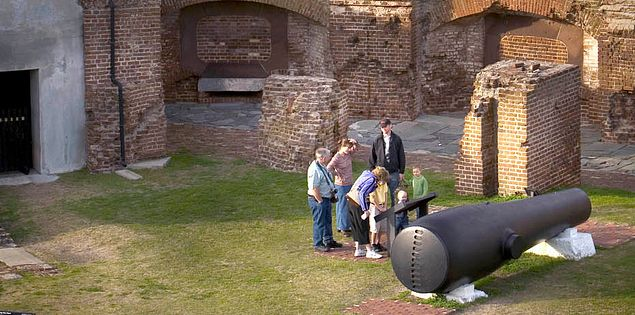 Fort Sumter Confederate Artillery