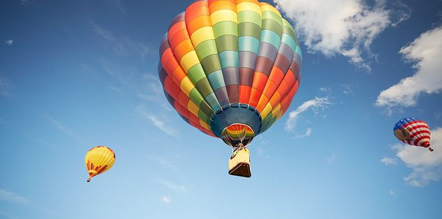 There's nothing quite like hot air ballooning in South Carolina.