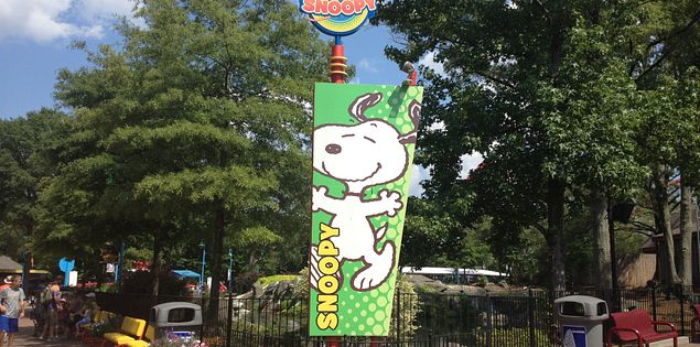 Planet Snoopy at South Carolina's Carowinds