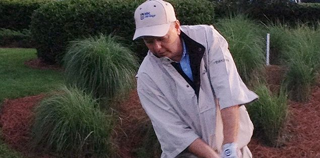 South Carolina's U.S. Sen. Lindsey Graham golfing