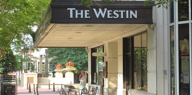 Stay at the Westin in Greenville, South Carolina!