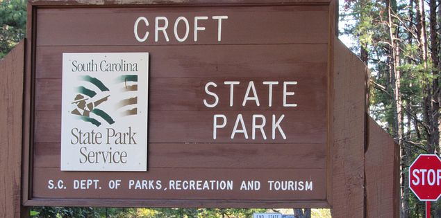 Croft State Park in Spartanburg
