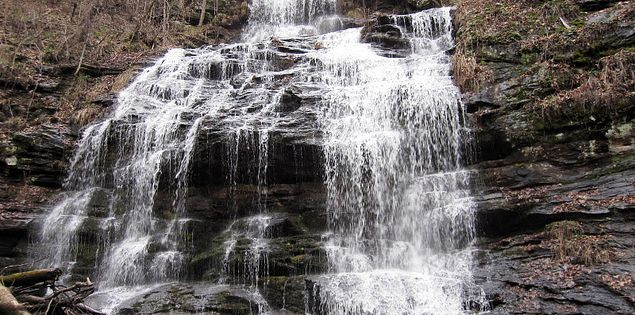 Station Cove Falls in Walhalla, South Carolina